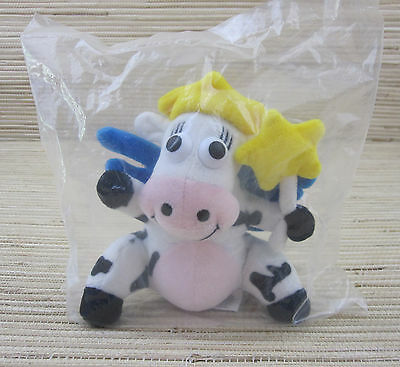 KRAFT Singles Dairy Fairy Cow Bean Bag Plush *New In Package