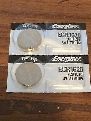 2 x Energizer cr1620 batteries 3v button lithium cell coin battery SAME DAY