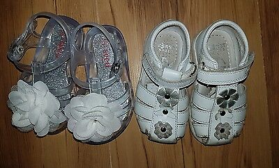 seed / clarks shoes baby girls sandals 12 -18 months