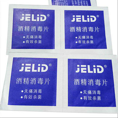 Portable Alcohol Swabs Pads Disinfection Antiseptic Cleaning Home Sterilization