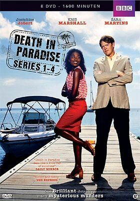 Death In Paradise - Serie 1-4 (DVD)