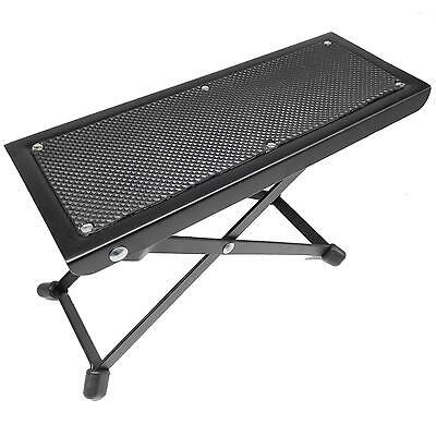 Guitar Foot Rest Pedal Footstool Stool Can Folding Layer Height is Adjustable