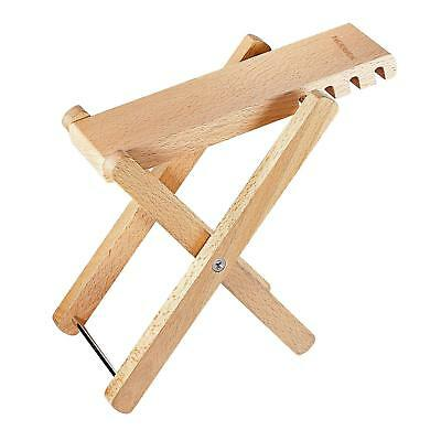 Neewer® Solid Well crafted Wooden Guitar Footstool Foot Rest with 4 Easily...