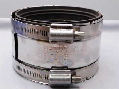 "Clamp-All 10040 4"" Hi-Torq 125 Pipe Coupling Clamp, Above or Below Ground"
