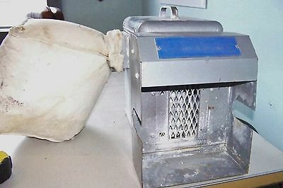 Baldor D60 Vacuum Dust Collector  System for small Dental Grinder ~ portable