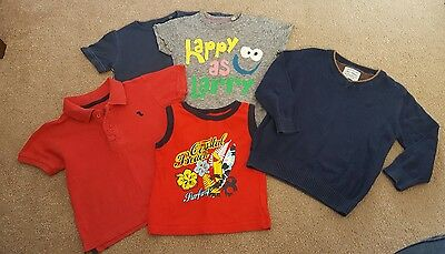 boys bundle 18-24 months, tops and jumper, next