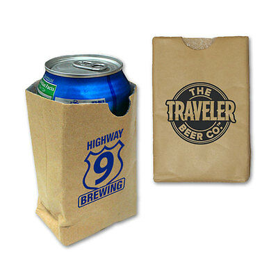 SIP SACK CAN COOLERS - 250 quantity - Custom Printed with Your Logo