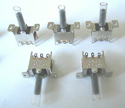 Slide Switches On/Off Panel Mount  Level switch new lot 5