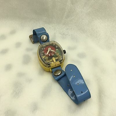 Vintage Merry Manufacturing USA Plastic Teeter Totter Watch Works