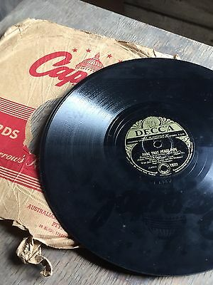 """BING CROSBY  """"Pass That Peace Pipe""""/ """"Now Is The Hour"""" 78rpm 10"""" 1948 Vintage"""