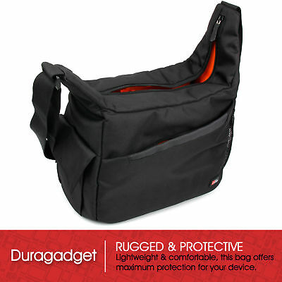 Premium Quality Black Satchel/Messenger Bag for Celestron SKYMASTER DX 8X56