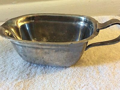 Antique Reed & Barton 5000 Mayflower Gravy Boat Silver plated