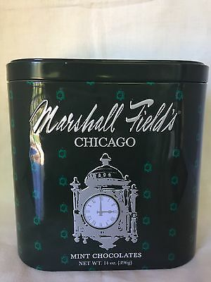 Very Rare Marshall Field's Chicago Clock Tin