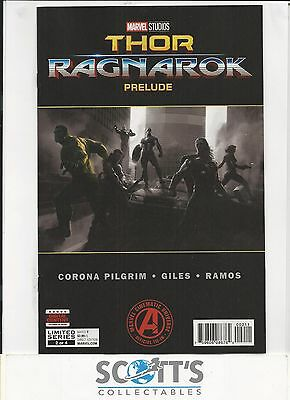 Marvels Thor Ragnarok Prelude #2 New (Bagged & Boarded) Freepost