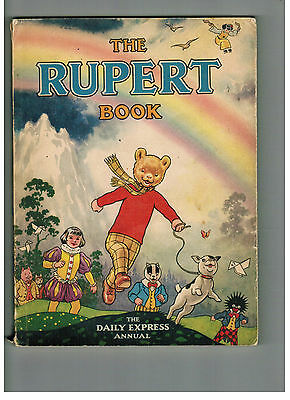 RUPERT ANNUAL 1948 original book BUT!