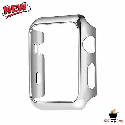 SILVER Slim Sleeve Cover Protector Case Bumper For iWatch 42MM APPLE WATCH 2