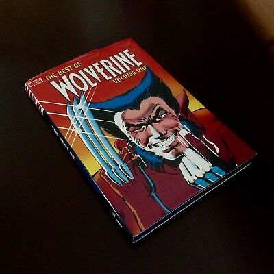 Wolverine: The Best Of Vol.1 Hardcover Graphic Novel