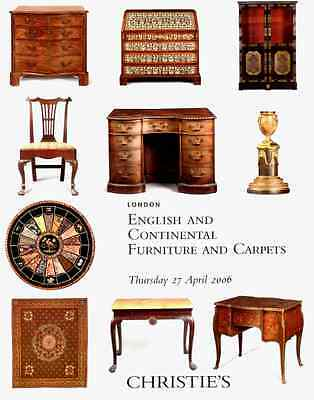 Christie's English & Continental Furniture +The Aykroyd Collection