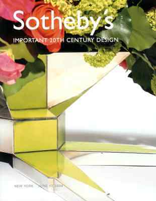 Sotheby's Important 20Th Century Design, Tiffany, Wright, Brandt, Noguchi +