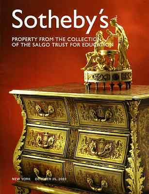 Sotheby's Important French Furniture The Salgo Trust Collection