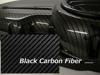 BLACK CARBON FIBER Hydrographics  Film Water Transfer Printing  50x300cm PVA !