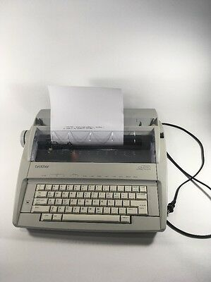 Brother Daisy Wheel GX-6750  Electronic Typewriter With New Type Ribbon
