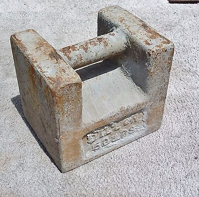 Dillon 50 lb Scale Test Weight Calibration Vintage For Industrial Scales