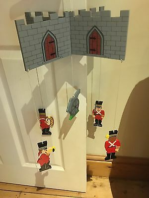 Soldiers & Castle Baby Nursery Child  Bedroom Mobile New