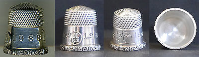 Lot of 9 TCI Convention Thimbles, 1988-2004 Complete, Simons Bros