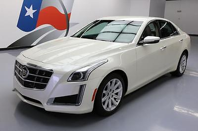 2014 Cadillac CTS Base Sedan 4-Door 2014 CADILLAC CTS 2.0T PADDLE SHIFTERS HTD SEATS 34K MI #163504 Texas Direct