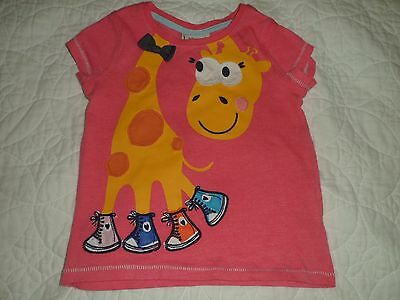 New Without Tags Girls Next Pink Top, 12-18 Months