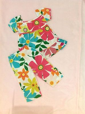 Gap Retro Baby Girl Top and Pants Set Size 0