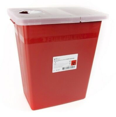McKesson Prevent Sharps Container, 17H x 15W x 10.25D Inch, 8 Gallon, Case of 10