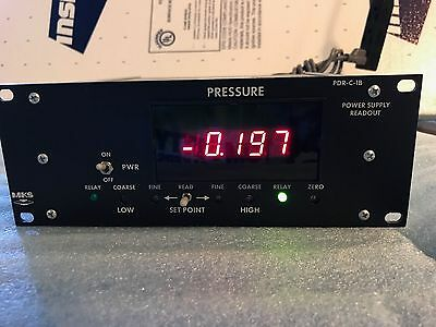 MKS PDR-C-1B Power Supply Pressure Digital Readout