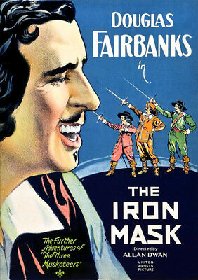 The Iron Mask [New DVD] Silent Movie