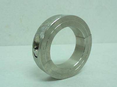 """166302 Old-Stock, Climax 2C-250-S Shaft Collar, SS, 2-1/2"""", Two Piece"""