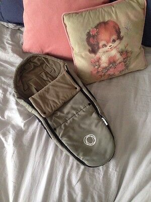 Bugaboo Bee Cocoon Khaki Used In Bugaboo Bee3 For Newborn To 4 Months