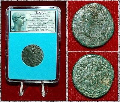 Ancient Roman Empire Coin Of TRAJAN  DIONYSUS On Reverse PERINTHUS Mint