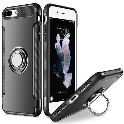 New For iPhone 7 Plus Luxury Shockproof Hybrid Rubber Hard Armor Case Cover Hot