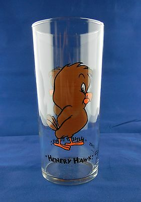 Henery Hawk Looney Tunes Drinking Glass (1993) Very Rare! Great Condition!