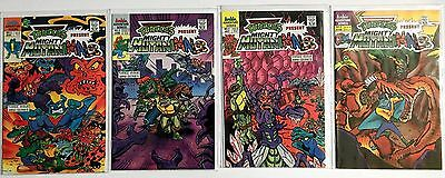 Mighty Mutanimals #1, 2, 3 Complete Set (1991, 1 Series) and #2 (1992, 2 Series)