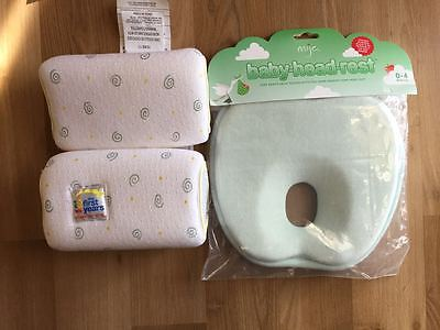 Mije Baby Head Rest and First year Anti Roll Pillow Sleep Positioner