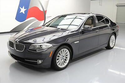 2011 BMW 5-Series Base Sedan 4-Door 2011 BMW 535I HTD SEATS SUNROOF NAV REAR CAM 80K MILES #606366 Texas Direct Auto