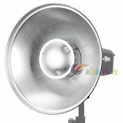 Godox 55cm Beauty Dish Reflector Bowens Mount For Studio Flash Strobe Light