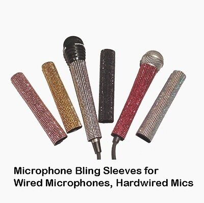 Microphone Sleeve, Hardwire Mic Sleeve by Blingcons