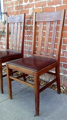 Pair of Mission Chairs