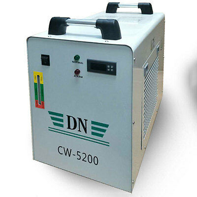 Industrial 800W Water Chiller Cooler CO2 Laser Engraver Cutting Machine CW5200AH