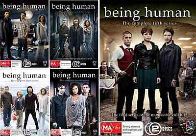 Being Human SERIES COMPLETE COLLECTION SEASONS 1 - 5 : NEW DVD