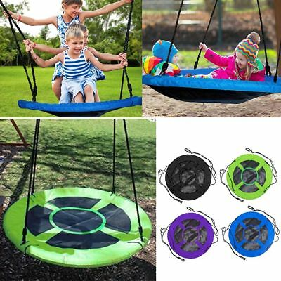 40'' Kids Spider Web Canvas Nest SWING-Special Needs inclucde Tree Straps &Clips