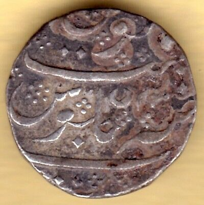 French India Silver One Rupee Arcot Mint #i10